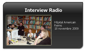 Interview Radio Hopital Americain